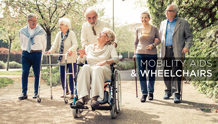 Top 5 Mobility Aids and Wheelchairs to Make Life Easier