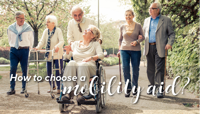 How to choose a mobility aid?