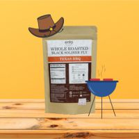TEXAS BBQ ROASTED BLACK SOLDIER FLY