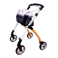 Mobees Rollator Walking Cart 9290